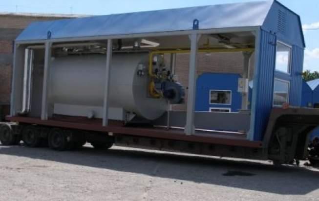 Блочно-модульные котельные установки водогрейные и паровые